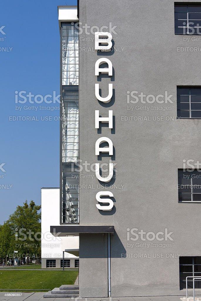 Bauhaus in Dessau (Deutschland – Foto