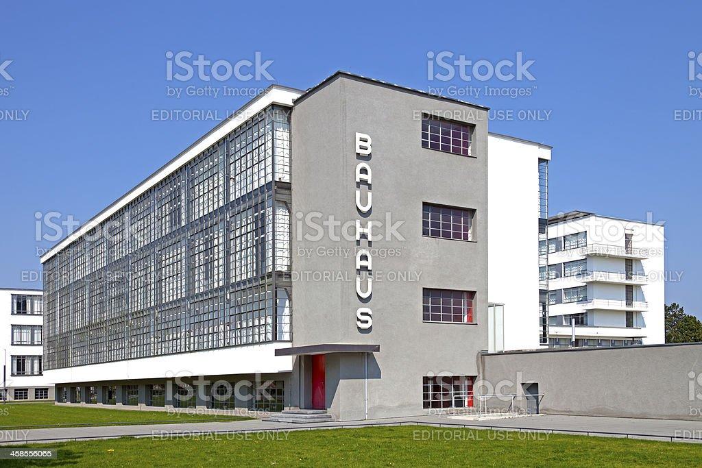 Bauhaus in Dessau stock photo