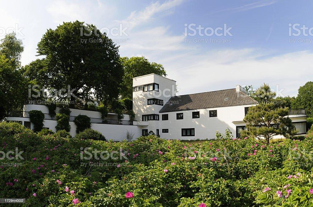 bauhaus mansion royalty-free stock photo