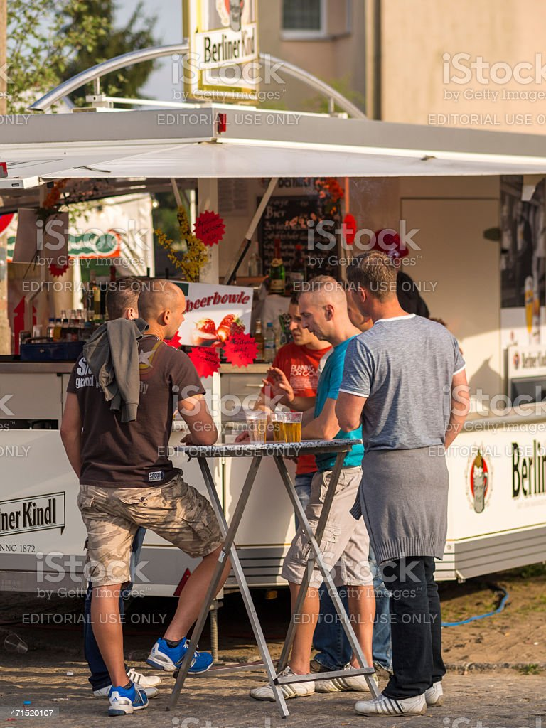 Baumbluetenfest in Werder near Berlin royalty-free stock photo