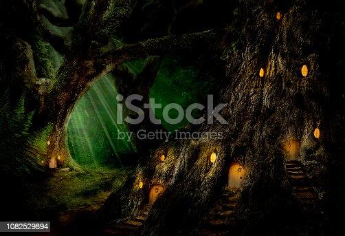 Fantasy Landschaft