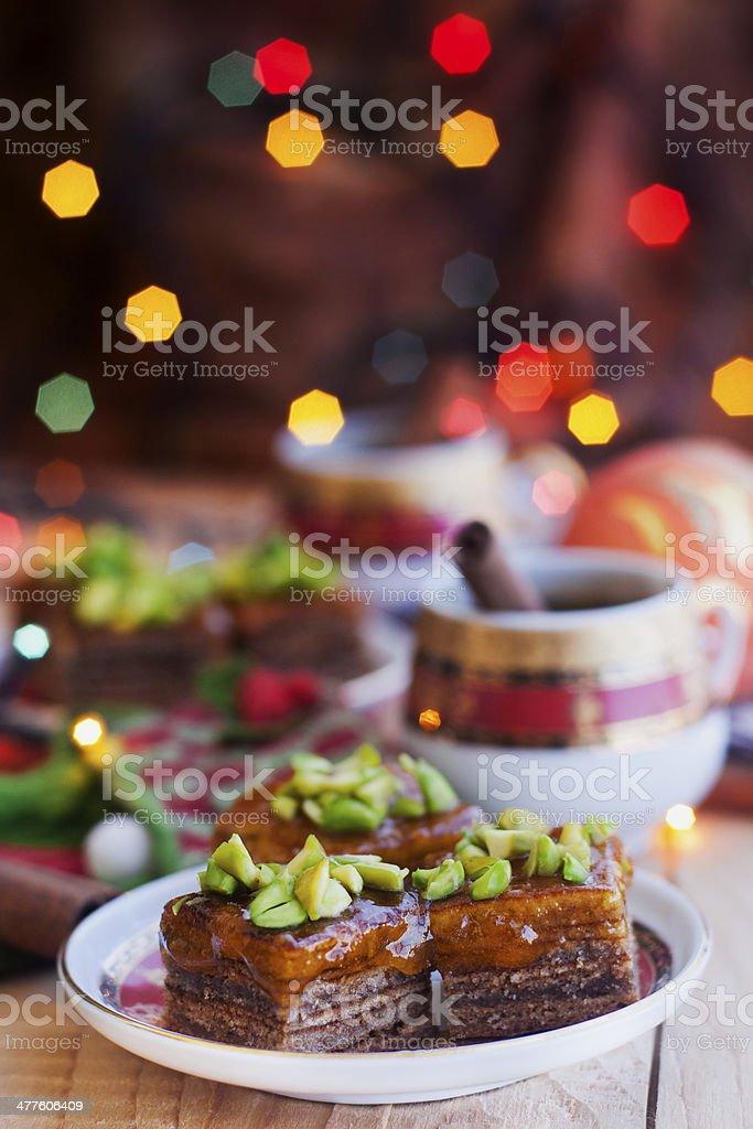Baumkuchen mit phistachio – Foto