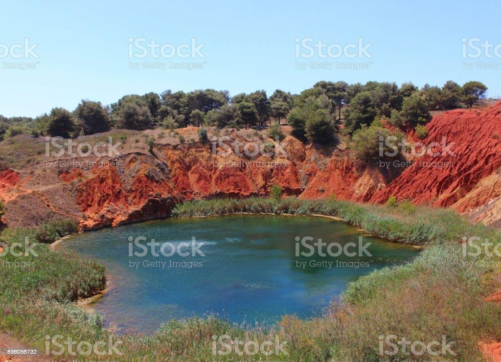 Grotte de bauxite - Photo