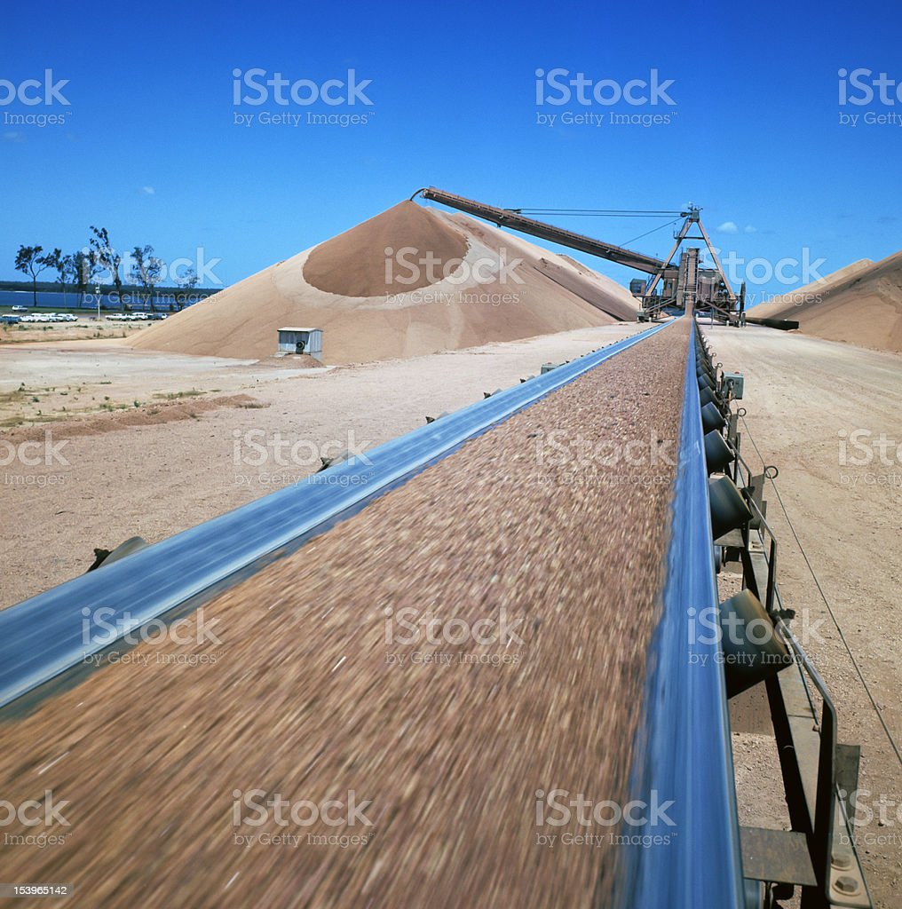 bauxite royalty-free stock photo