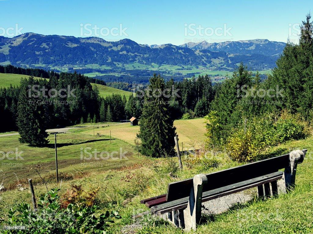 Bavaria Alps stock photo