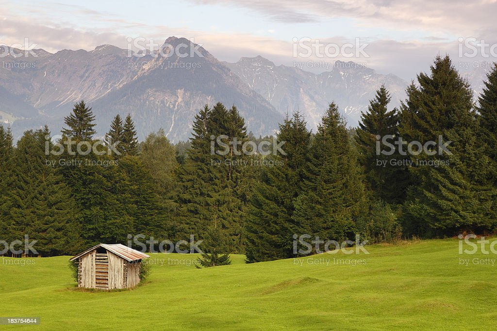 Bavaria landscape royalty-free stock photo