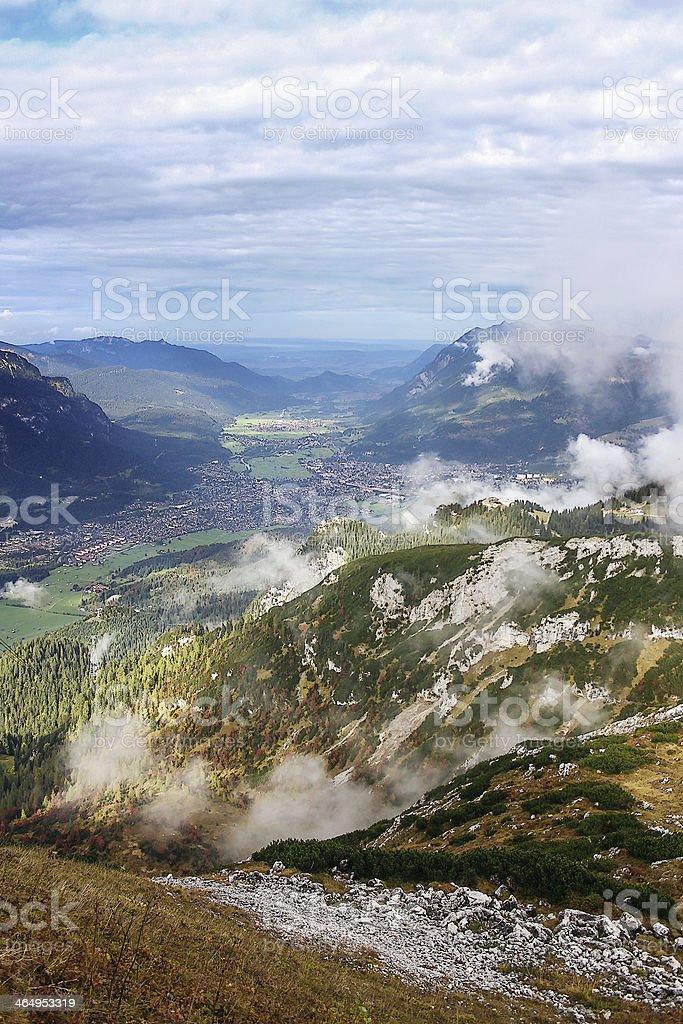 Bavarian Alps, Germany stock photo