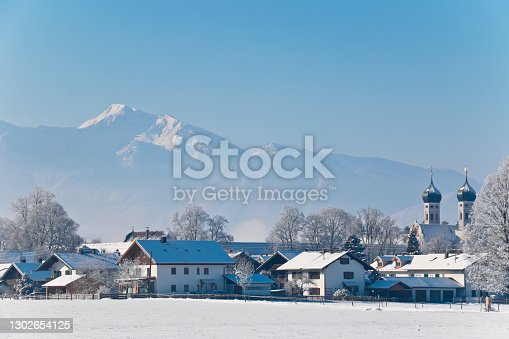 istock Bavarian Alps panoramic in winter 1302654125