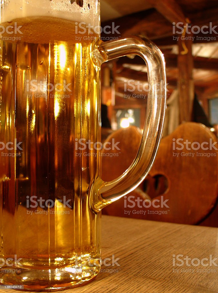 Bavarian beer royalty-free stock photo