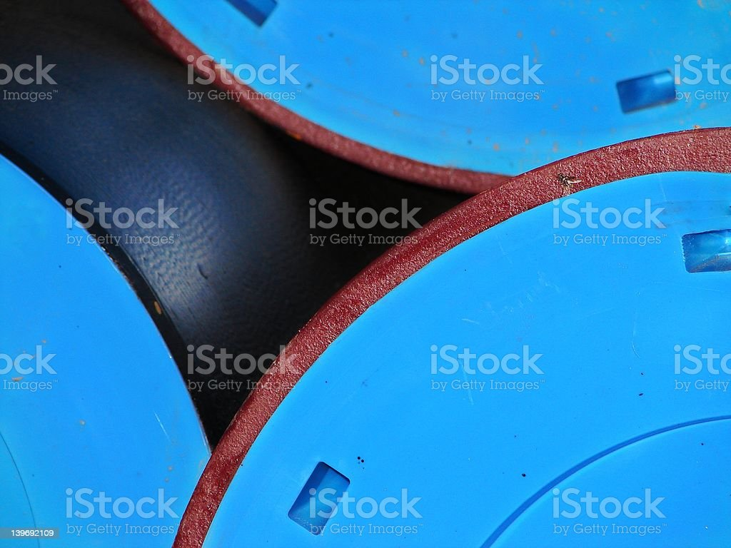 Bavarian Blue stock photo