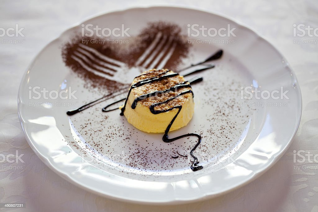 Bavarian Cream stock photo