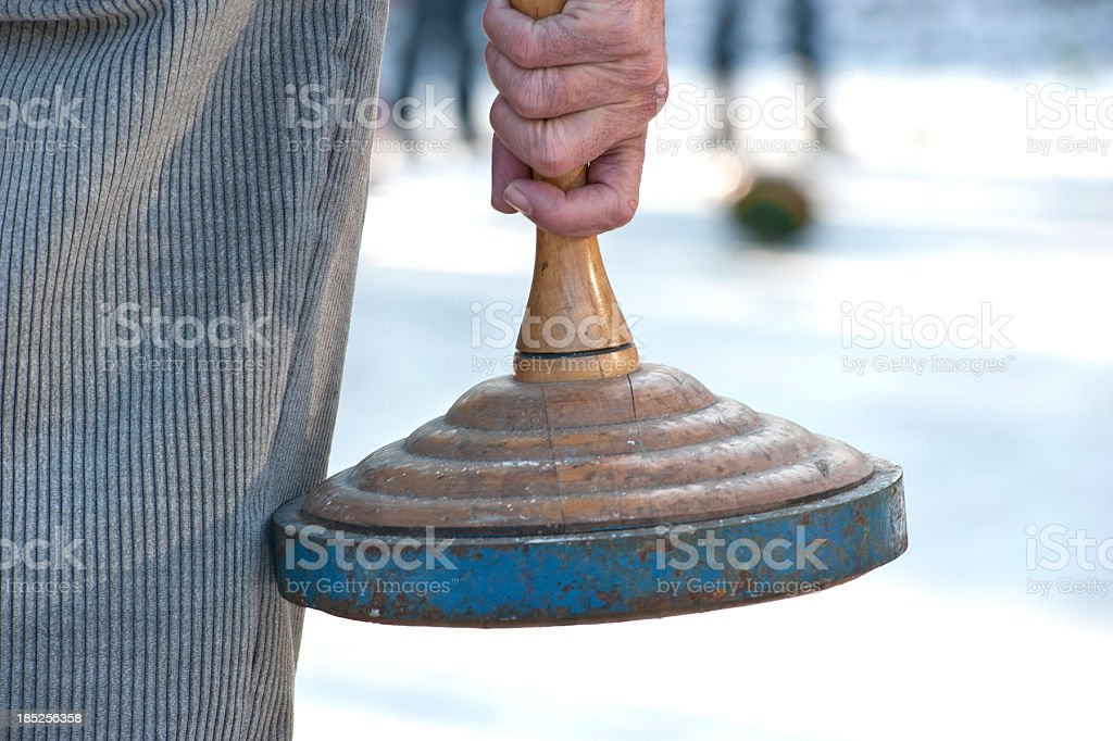 bavarian curling hands on stock photo