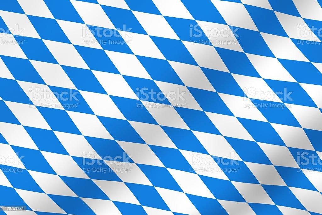 Bavarian flag stock photo