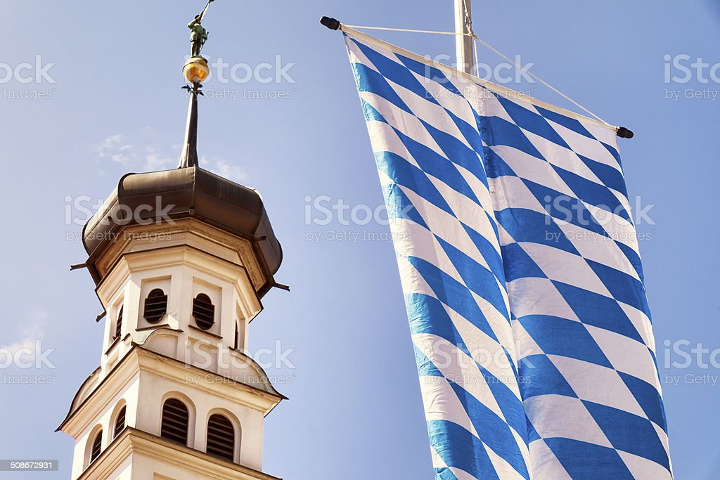 bavarian Flagge – Foto
