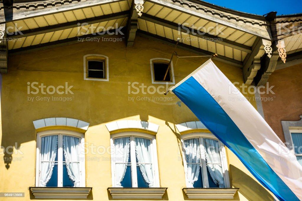 bavarian flag royalty-free stock photo