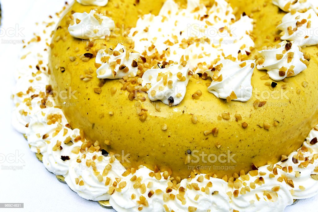 bavarese alla nocciola royalty-free stock photo