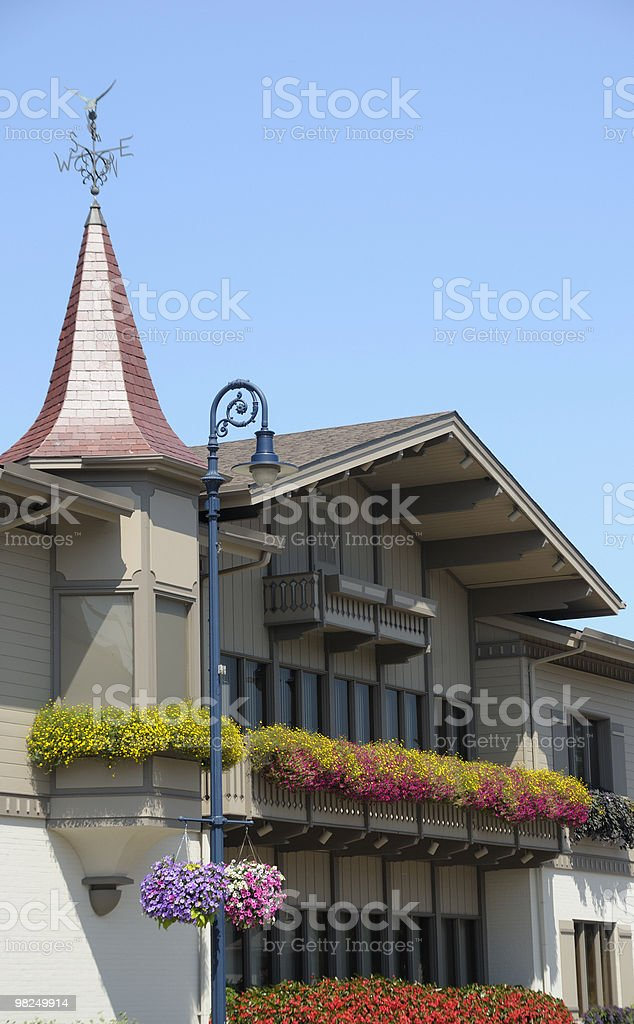 Bavarian House, Frankenmuth, Michigan royalty-free stock photo