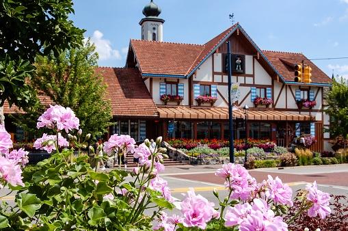Bavarian Inn Frankenmuth Michigan Stock Photo - Download Image Now