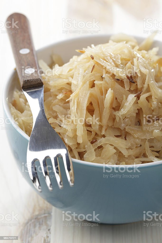Bavarian Kraut royalty-free stock photo
