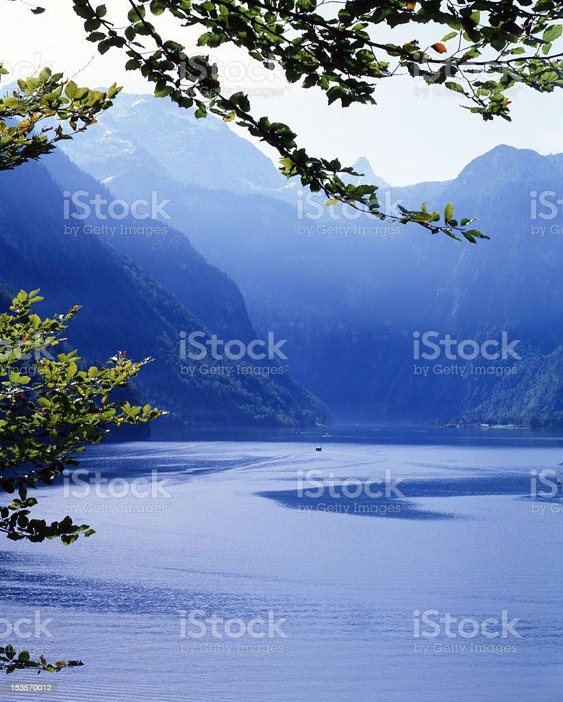 Bavarian Lake royalty-free stock photo