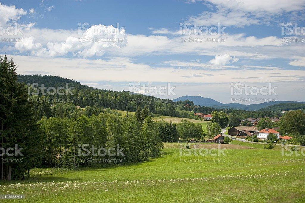 Bayerische Landschaft – Foto