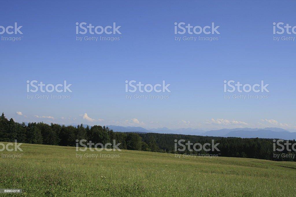 Bayerische Landschaft Lizenzfreies stock-foto