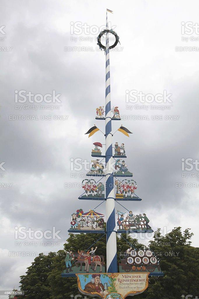 Bayerische Maibaum – Foto