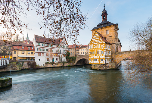 Bavarian Old Town Hall of Bamberg, Germany