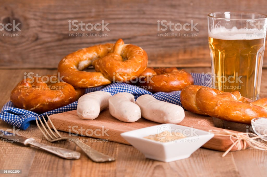 Bavarian pretzels. royalty-free stock photo