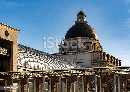 istock Bavarian State Chancellery view from side 1247055403