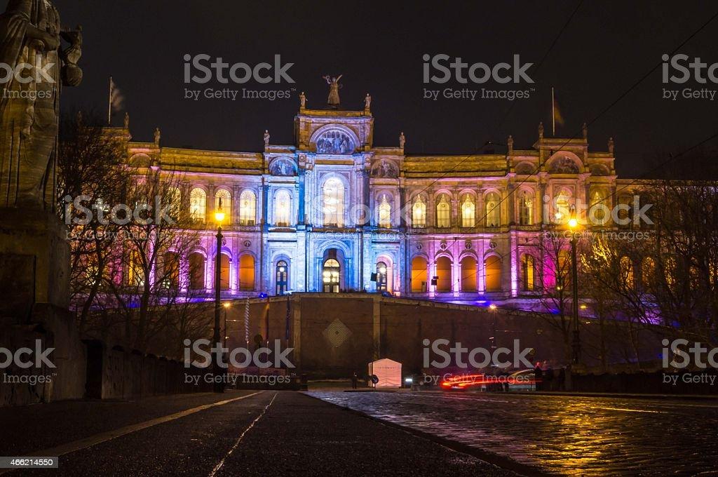Bayrischer Landtag - München stock photo