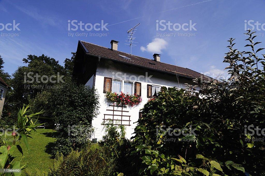 bavarian style royalty-free stock photo