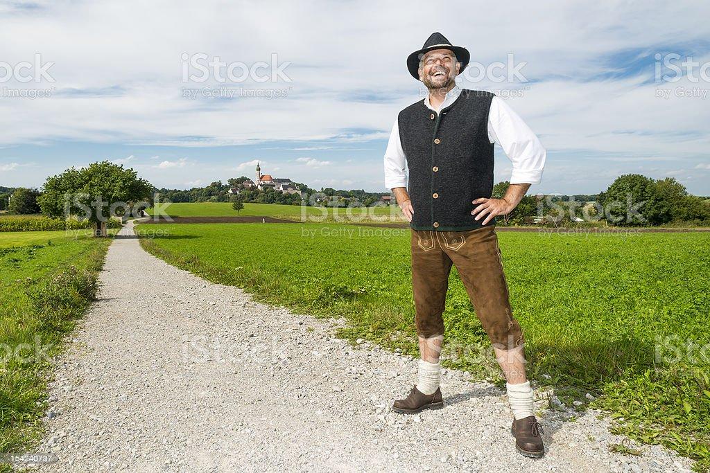 Bayerische Traditionelle Kleidung – Foto