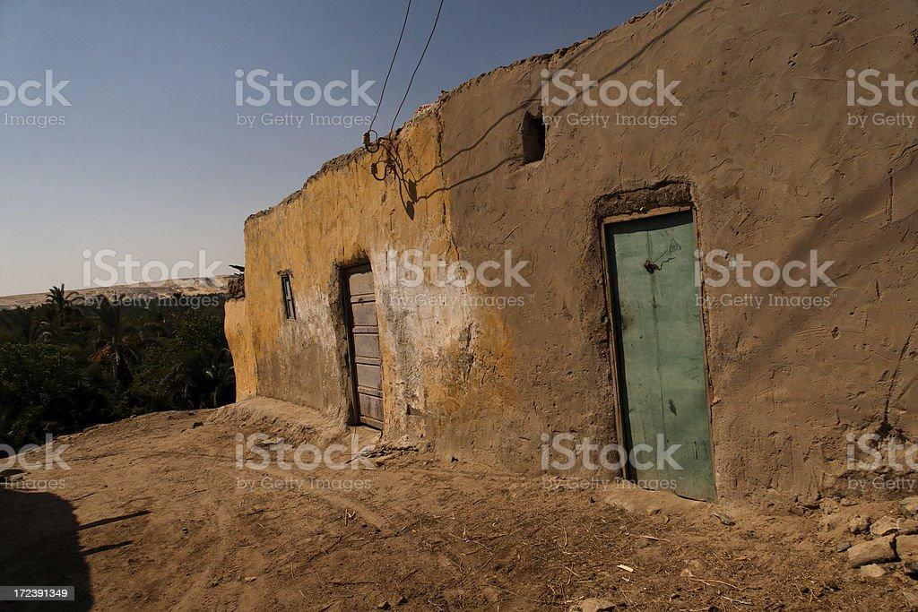 Bawiti old city royalty-free stock photo