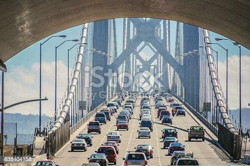 Bay bridge of San Francisco, USA