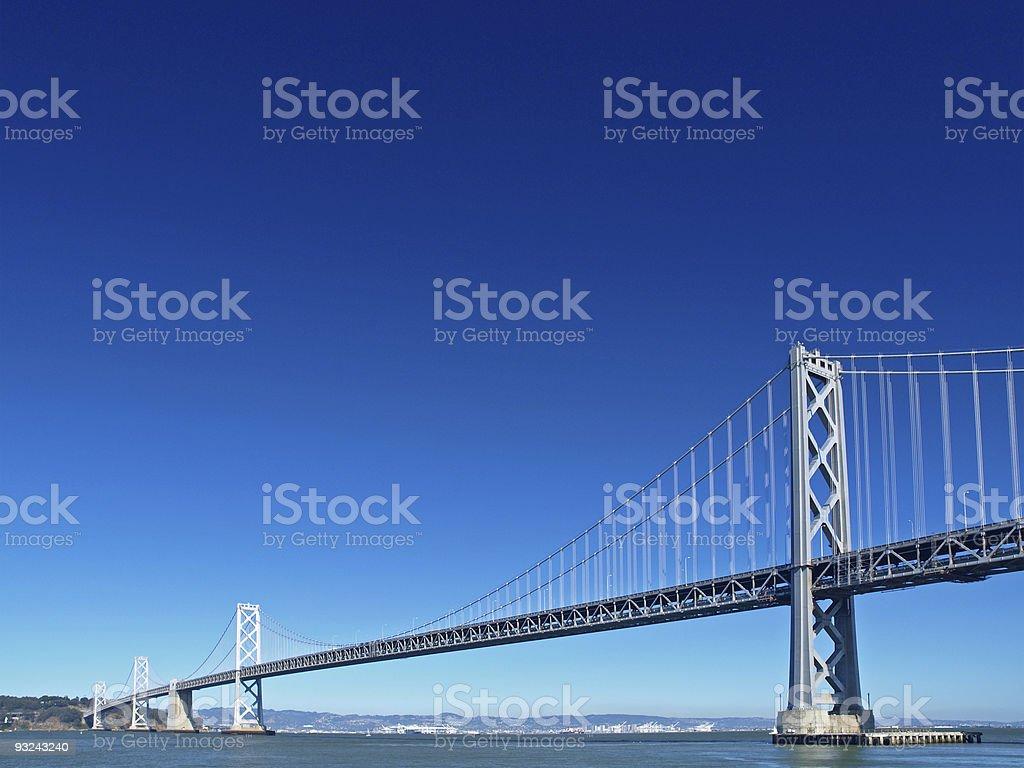 Bay Bridge Lizenzfreies stock-foto
