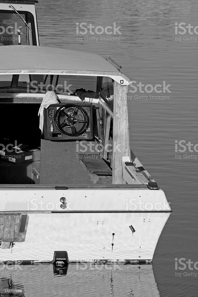 Bay Cruising Boat royalty-free stock photo