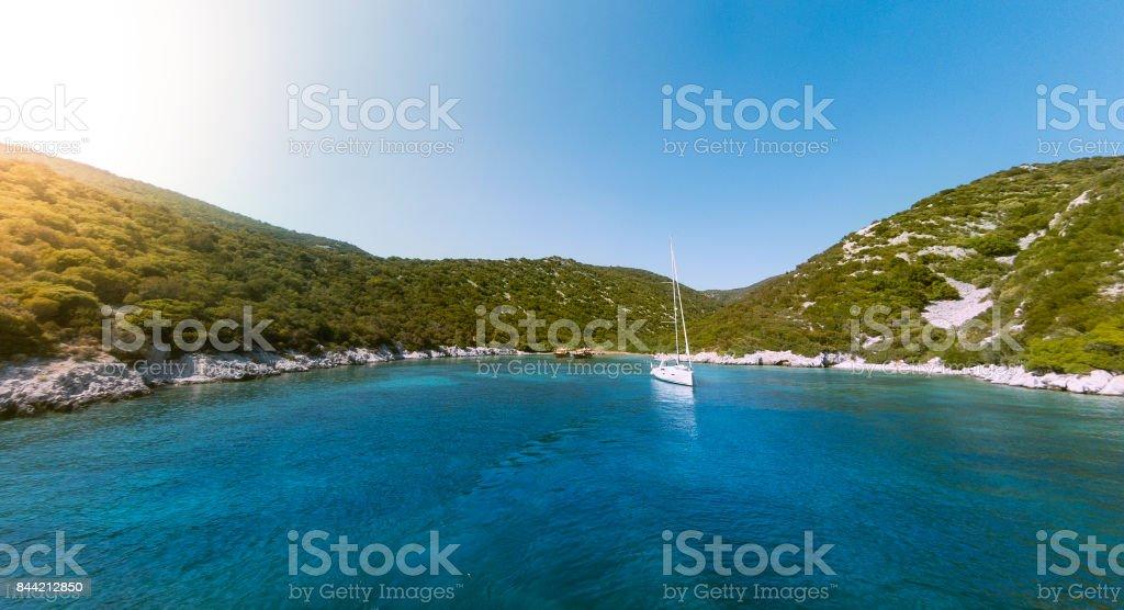 Baie de la mer Egée. - Photo