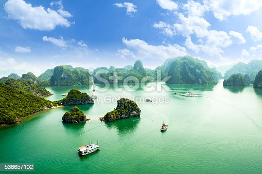 istock HALONG bay in vietnam 538657102