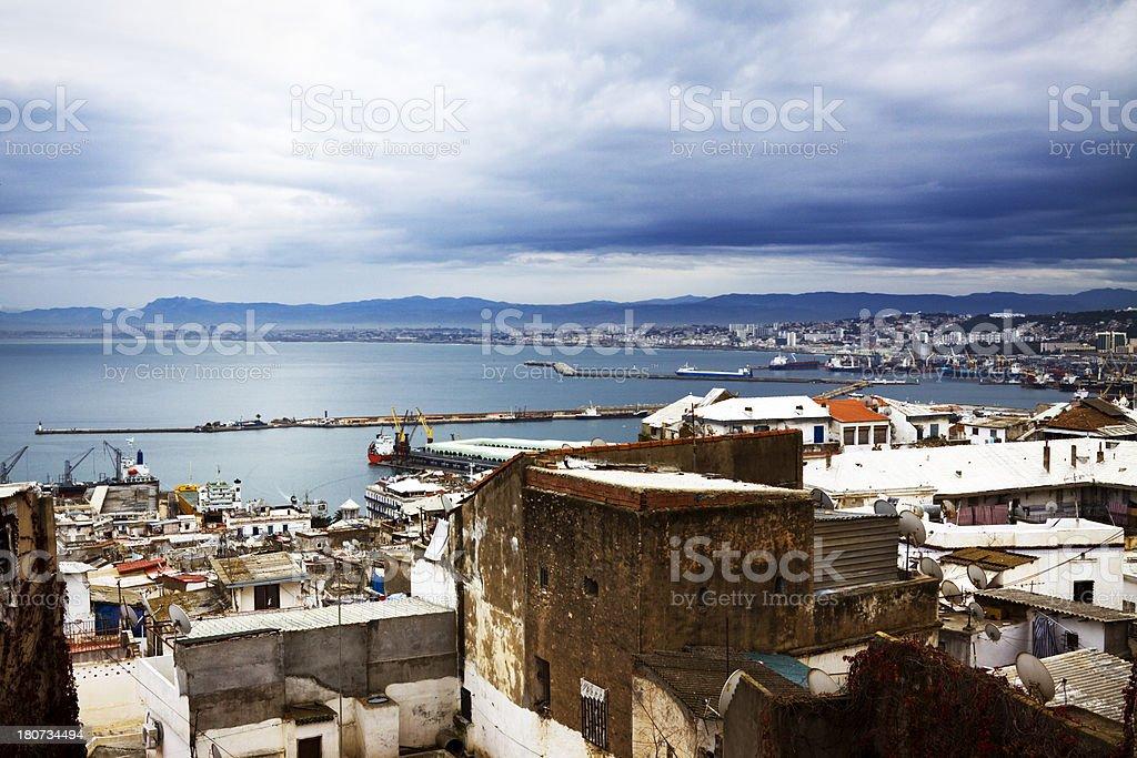 Baie d'Alger depuis la Casbah - Photo