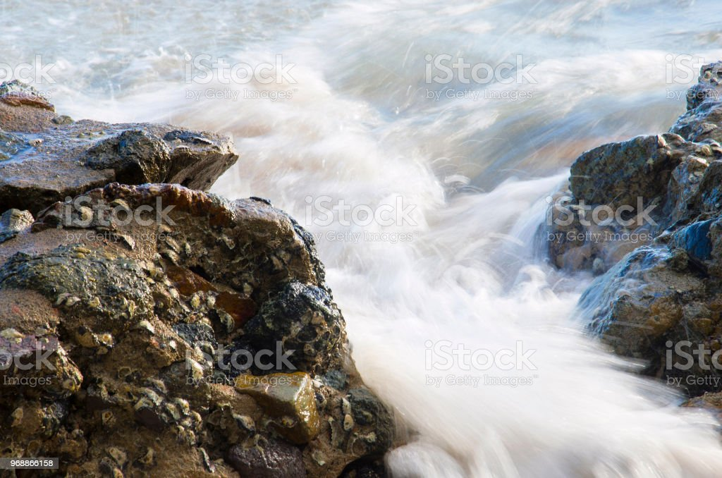 Bay of Bengal and Andaman Sea, Chidiya Tapu, Port Blair, Andaman and Nicobar Islands stock photo
