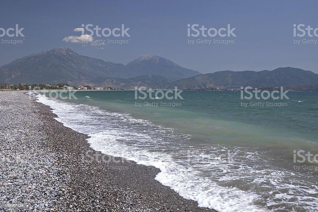 Bay of Fethiye royalty-free stock photo