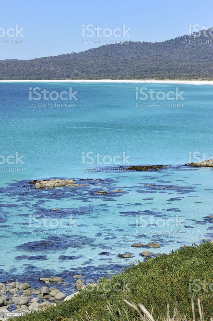 Bay of Fires royalty-free stock photo