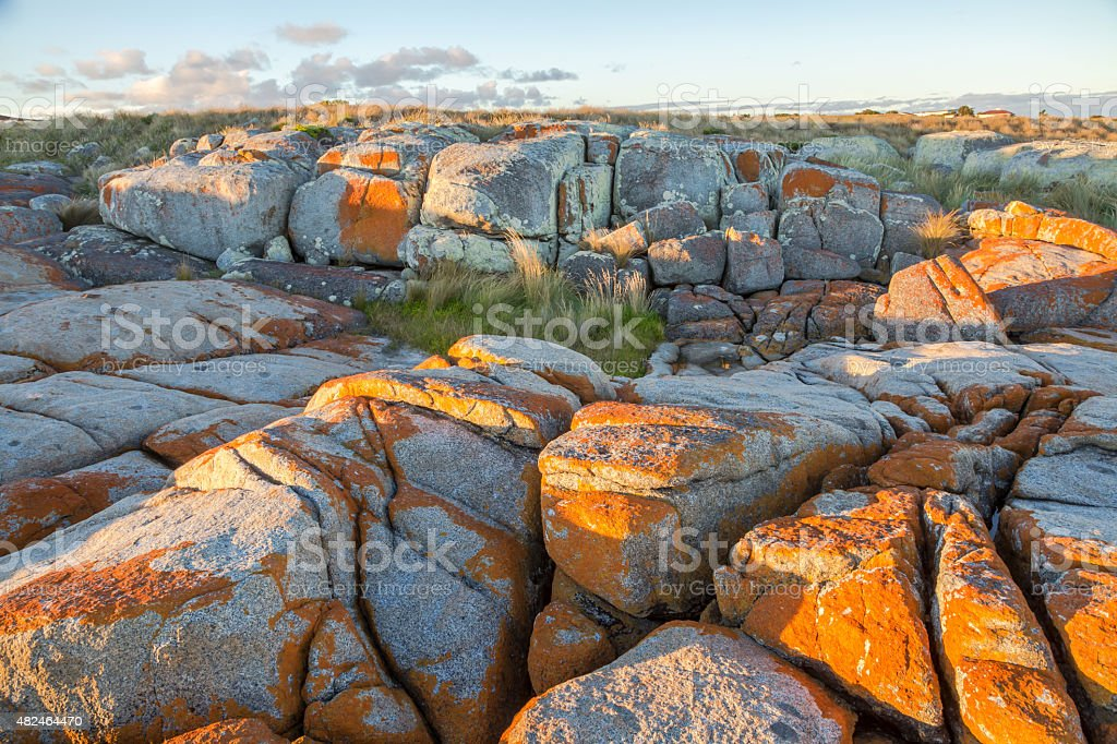 Bay of Fires stock photo