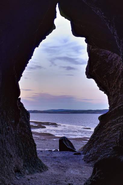 Bay of Fundy, Hopewell Rocks, New Brunswick, Kanada – Foto