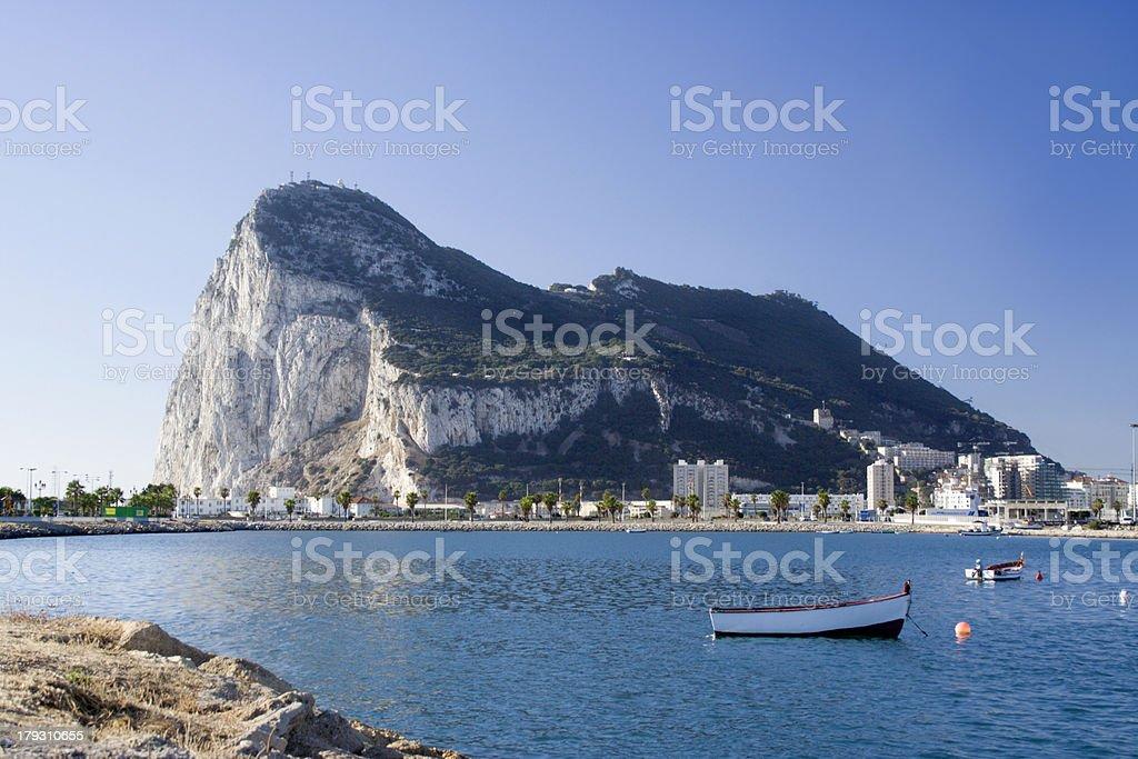 Bay of Gibraltar 1 royalty-free stock photo