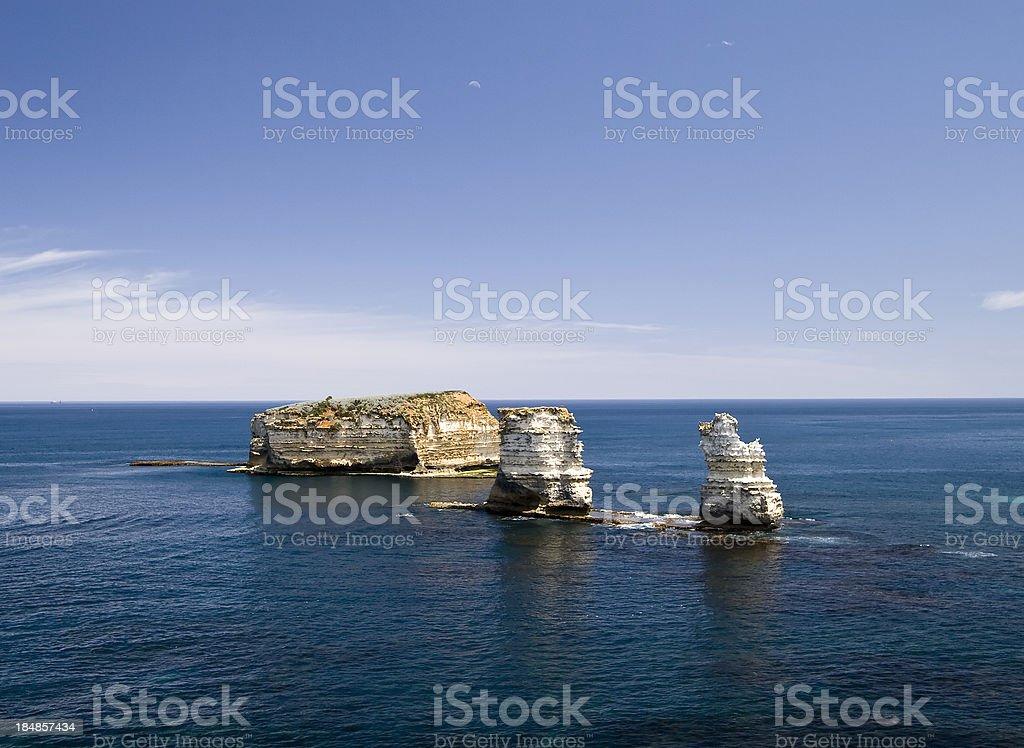 Bay Of Islands Coastal Park royalty-free stock photo