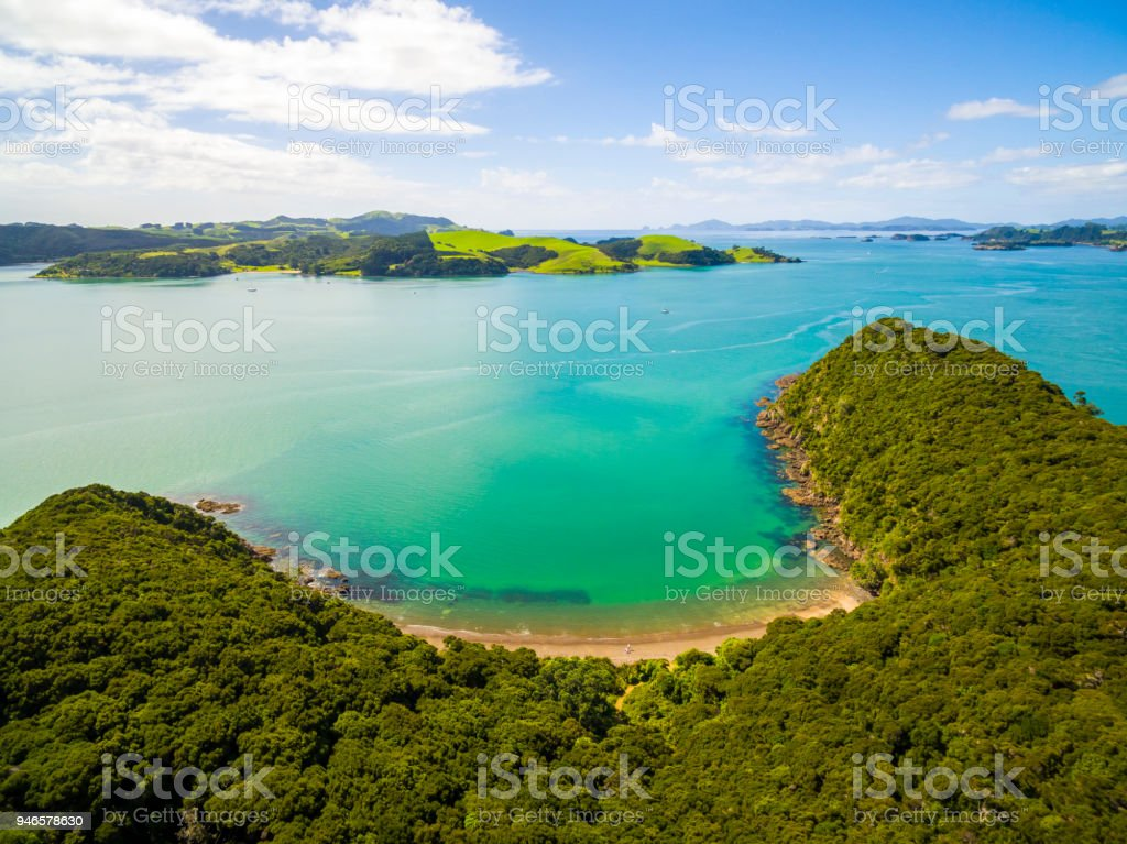Bay of Islands stock photo