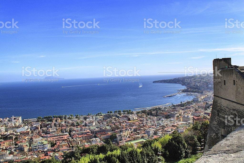 Bay of Naples royalty-free stock photo