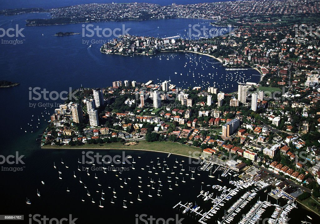 Bay of Sydney royalty-free stock photo